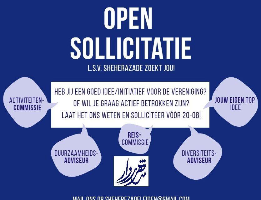 Vacancies (deadline 10/9)