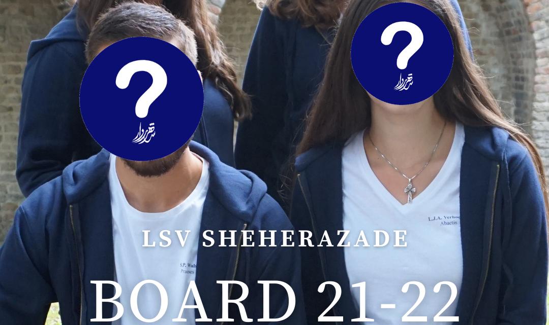 Join the 38th Sheherazade board!